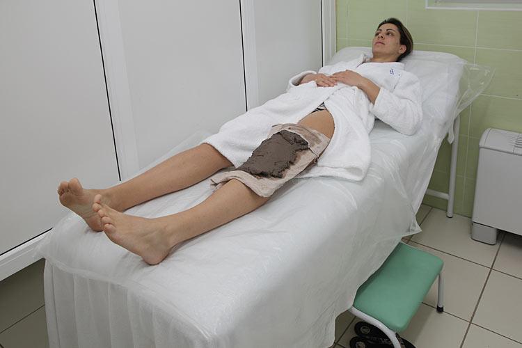 Лечение артроза коленного сустава грязями